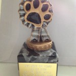 Fun Dog Show Trophy