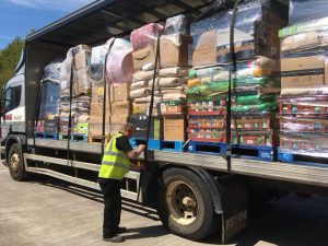 12 pallet shipment that is helping Cyprus dogs